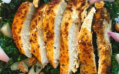 AIP Chicken Kale Salad