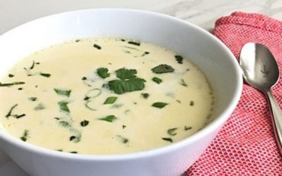 AIP Coconut Ginger Soup