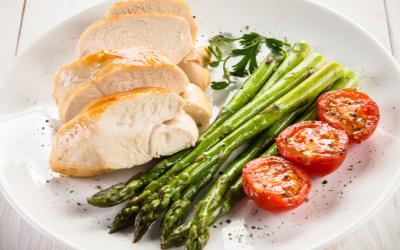 Paleo Chicken & Asparagus with Lemon & Herbs
