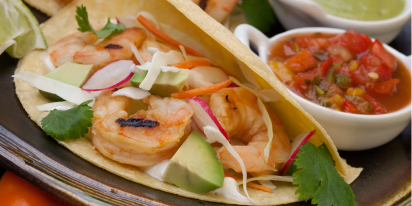 AIP Shrimp Tacos