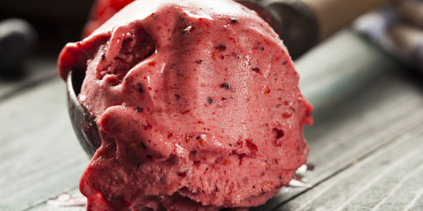 Strawberry Chocolate Chip Gelato