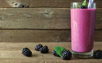 Anti-Inflammatory Blackberry Shake