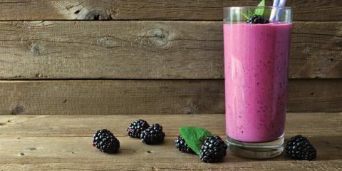Anti-Inflammatory Blackberry Shake